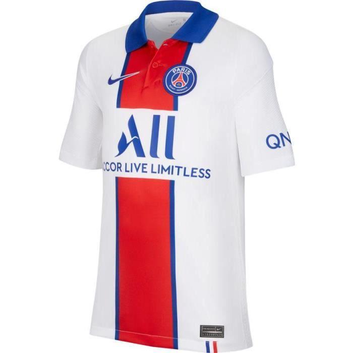MAILLOT JUNIOR PSG PARIS BLANC EXTERIEUR 2020/21