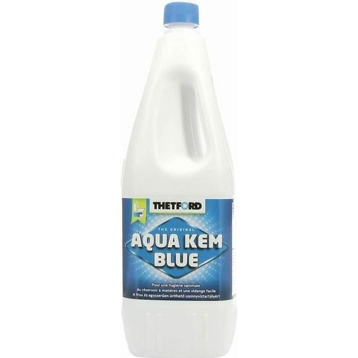 THETFORD Liquéfiant WC Chimique Aqua Kem bleu 2 Litres