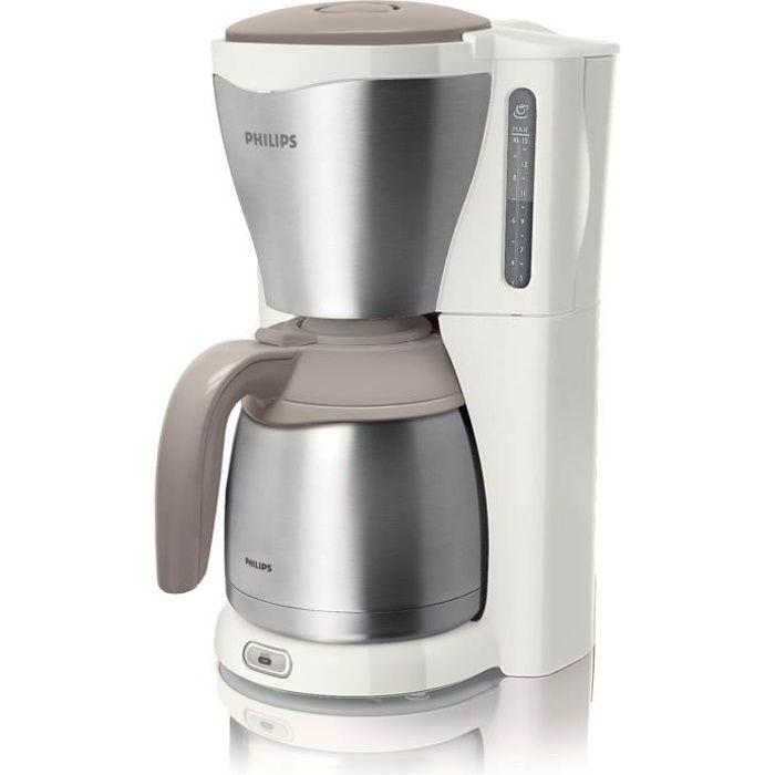 Philips HD7546 - Cafetière - 15 tasses - Beige …
