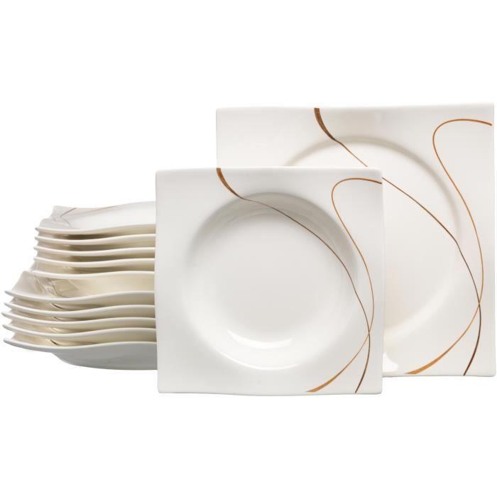 Ritzenhoff & Breker Scala - 597851 Service de table 12 pièces