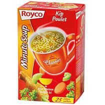 Potage Royco kip poulet sachet - boîte de 20