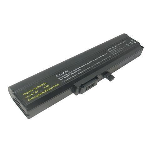 Batterie d'ordinateur sony vaio vgn-tx27cp/l