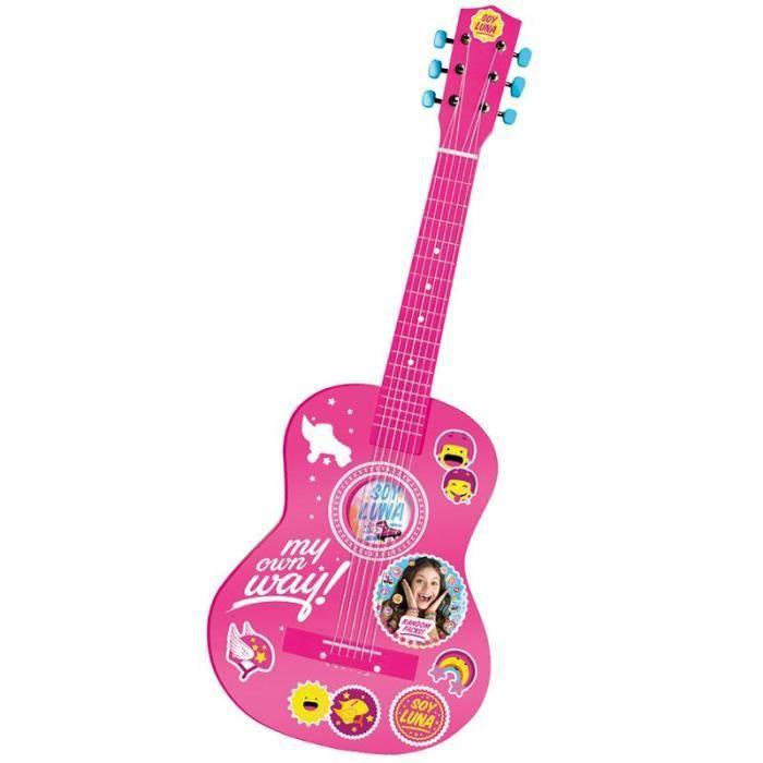 SOY LUNA Guitare en bois - 75cm