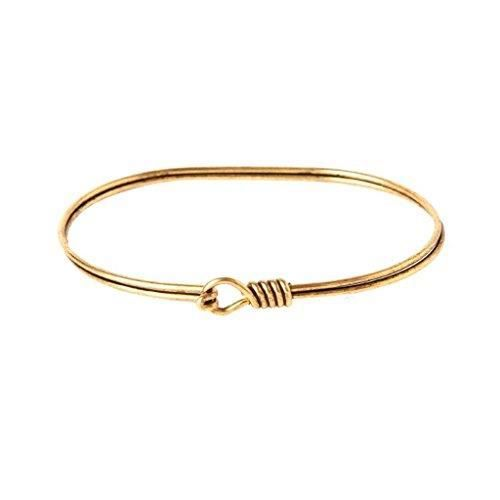 Womens Hook & Eye Layering Bracelet (gold-plated) HECLJ