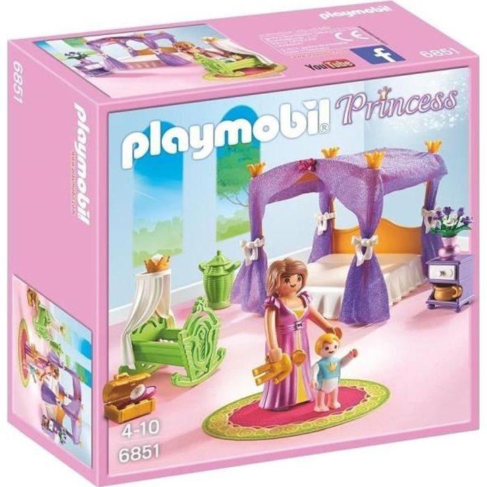 UNIVERS MINIATURE PLAYMOBIL 6851 - Princess - Chambre de la Reine av