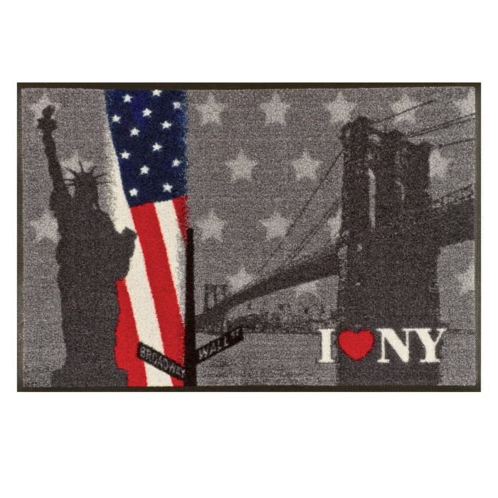paillason tapis accueil tapis d 39 entr e new york achat vente paillasson cdiscount. Black Bedroom Furniture Sets. Home Design Ideas