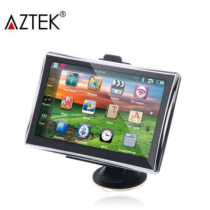 aztek navigateur gps 5 fm carte europ en syst me vocal achat vente gps auto aztek. Black Bedroom Furniture Sets. Home Design Ideas