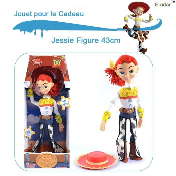action toy story jessie figure 43cm jouets parlants pvc. Black Bedroom Furniture Sets. Home Design Ideas