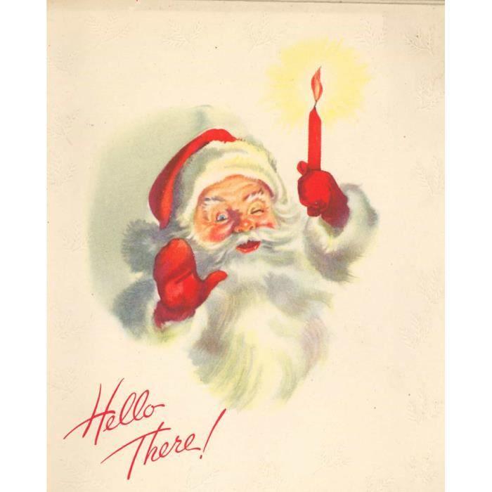 Terre-Neuve-Père Noël P-En Coton Blanc Sweat