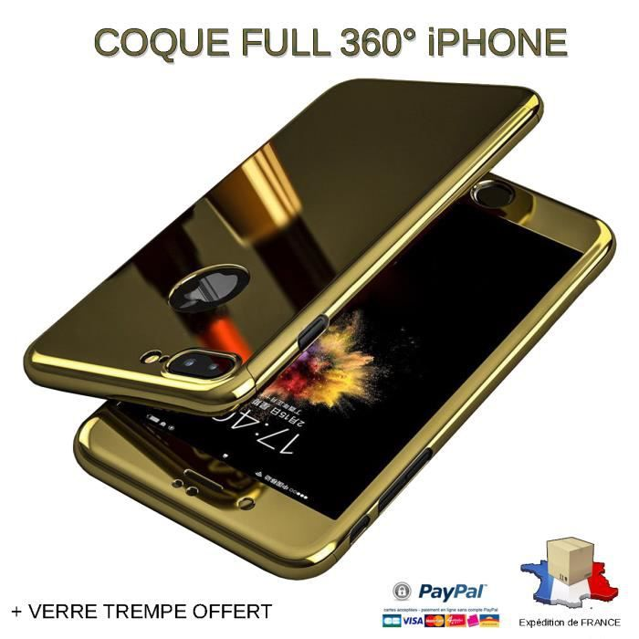 coque verre trempe iphone 6 plus
