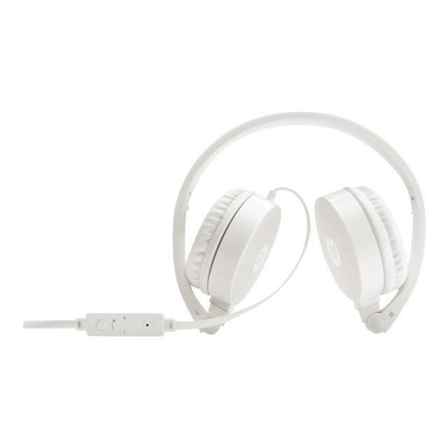 CASQUE AVEC MICROPHONE HP Casque audio blanc H2800
