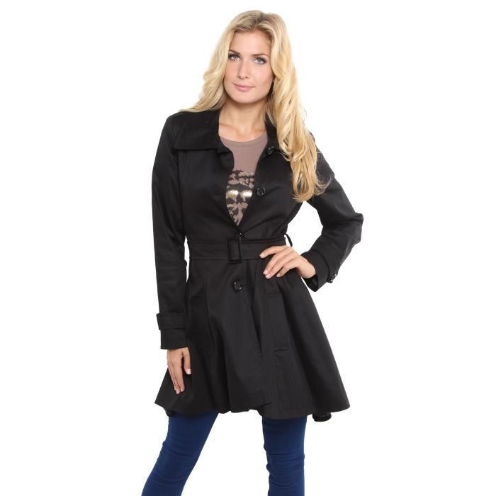 Manteau Femme Veste Trench Coupe Achat Vente Imperm Able Trench Cdiscount