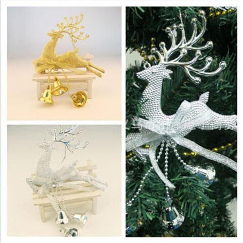Cerf-Arbre De Noël Babiole-Noël En bois de Noël décoration-Renne