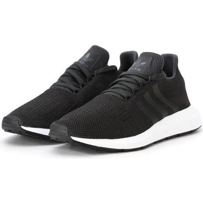 ADIDAS ORIGINALS Baskets SWIFT RUN Homme Noir CharbonBlanc