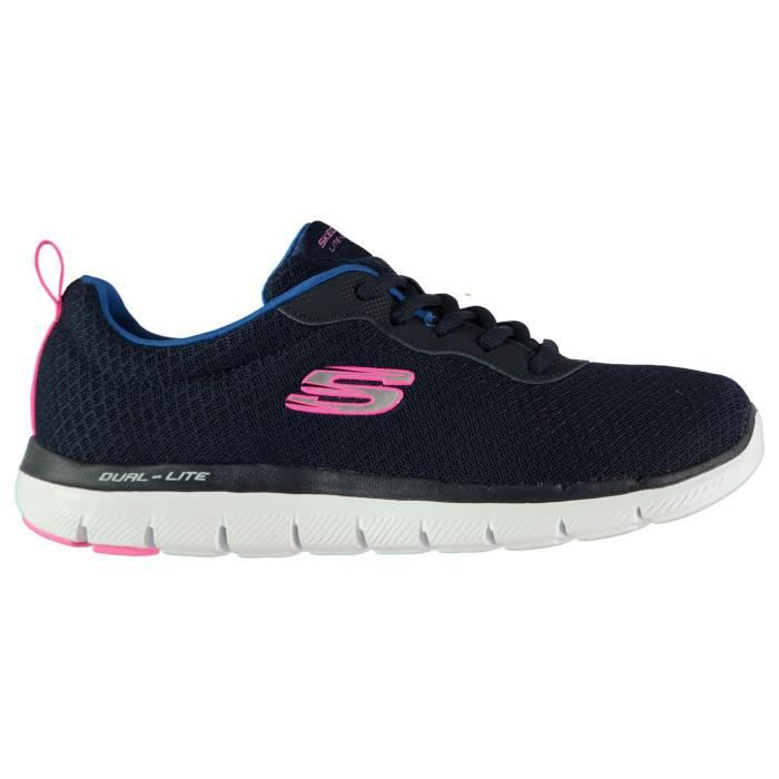 Skechers Femme Baskets De Running A Lacets
