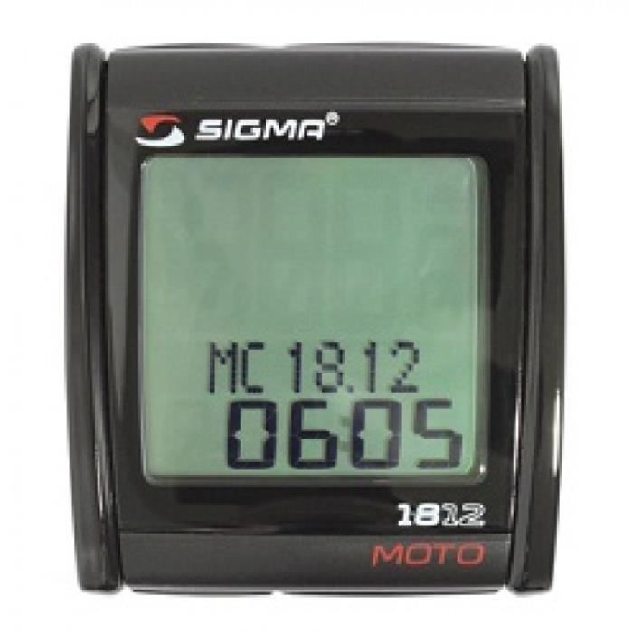 compteur digital sigma mc1812 pour scooter moto achat vente comodo compteur digital sigma. Black Bedroom Furniture Sets. Home Design Ideas