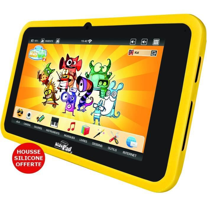 TABLETTE ENFANT VIDEOJET Tablette Enfant KidsPad 2