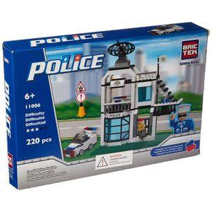 FIGURINE - PERSONNAGE Figurine Miniature Petite station de police Kit de