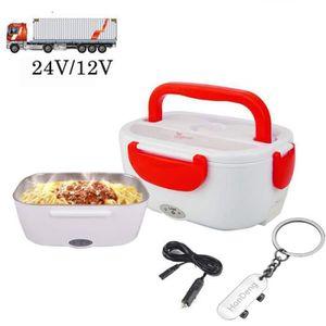 LUNCH BOX - BENTO   Boîte Chauffante 24V 12V Lunch Box Chauffante Éle