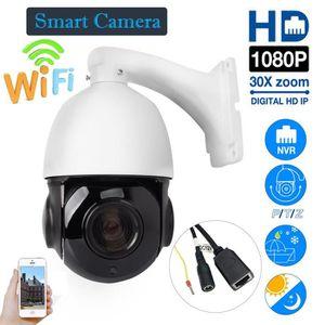 CAMÉRA IP HD 1080P 2MP 30X Zoom HD Caméra à dôme extérieure