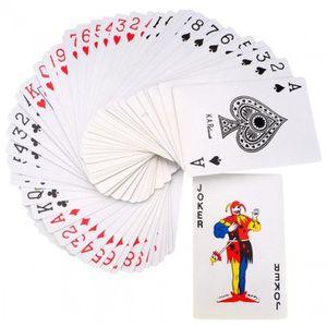 CARTES DE JEU Jeu de 54 Cartes à Jouer Classique