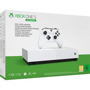 CONSOLE XBOX ONE Console Microsoft Xbox One S All Digital 1 To Blan
