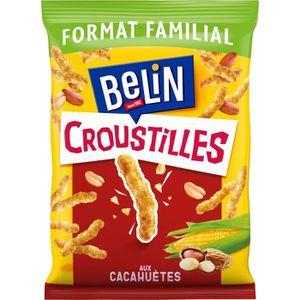 BISCUITS APÉRITIF Belin Croustilles Cacahuète Format Familial 138g