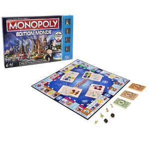 JEU SOCIÉTÉ - PLATEAU Hasbro - B23481010 - Jeu De Société - Monopoly Mon