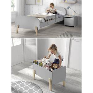 STRUCTURE DE LIT KIDDY Chambre enfant complète style scandinave en