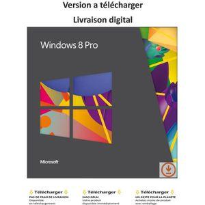 SYSTÈME D'EXPLOITATION Windows 8 Pro  -