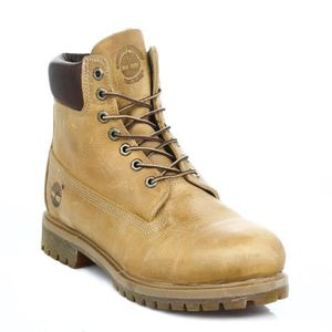 BOTTE Timberland Homme AF 6inch Anniversary Wheat Yellow