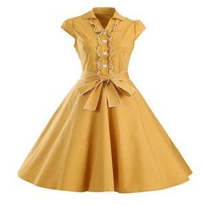 ROBE Femme Robe Vintage Années 50 Robe de Bal pour Soir