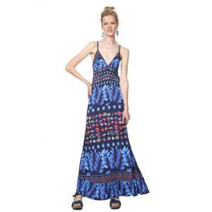 ROBE Desigual Robe femme Greta bleu marine 19SWVK17 - T