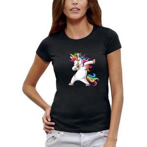 T Shirt Licorne Femme