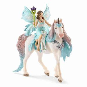 FIGURINE - PERSONNAGE Figurine Miniature SCHLEICH Fée Eyela avec Princes