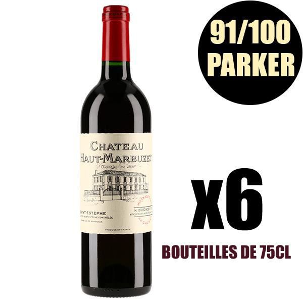 X6 Château Haut-Marbuzet 2005 75 cl AOC Saint-Estèphe Vin Rouge