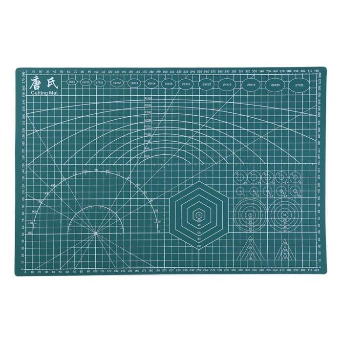 Couture coupe tapis A3 PVC Double face plaque Design auto guérison artisanat gravure planche à découper tapis bricolage accessoire