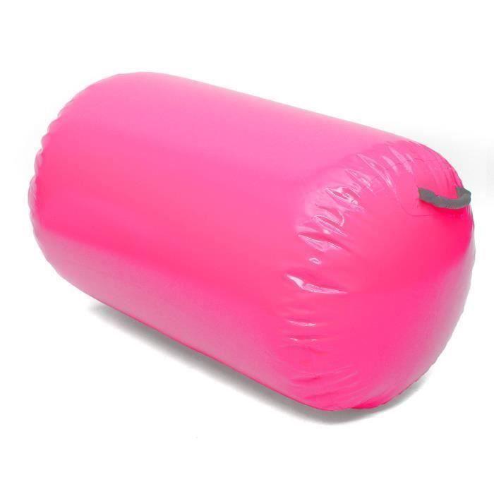 Gonflable Rouleau Gymnastique PVC Rose