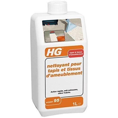 HG Nettoyant pour Tapis et Tissus d'Ameublement N&deg 95 1000 ml