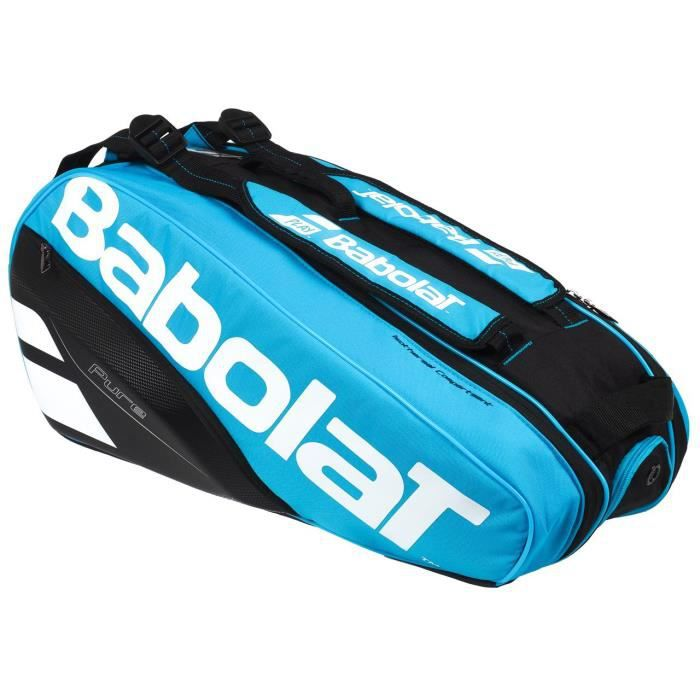 Sac de tennis Pure line racket holder 6 - Babolat UNI Bleu Moyen