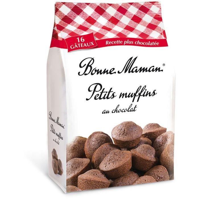 BONNE MAMAN Petits Muffins au Chocolat - 235 g