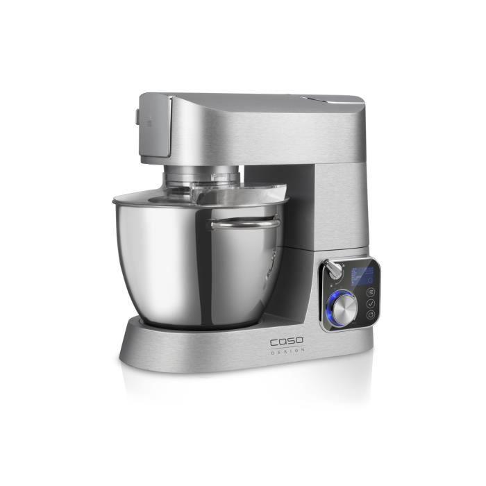 Robot de cuisine en acier inoxydable 1200W - Caso 3151