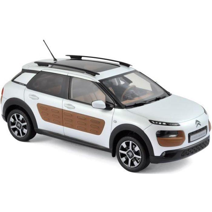 NOREV Citroën C4 Cactus 2014 - Perle blanc & Airbump chocolat