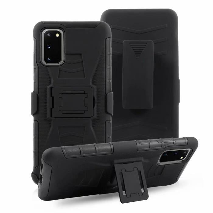 Coque Samsung Galaxy S20 (6.2-) Housse de Téléphone Protection - Clip Ceinture & Support Bumper Etui Samsung Galaxy S20