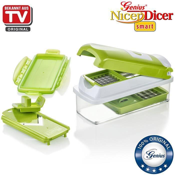 Genius Nicer Dicer Smart - 7 pièces - de fruits et légumes - connu en TV - neuf