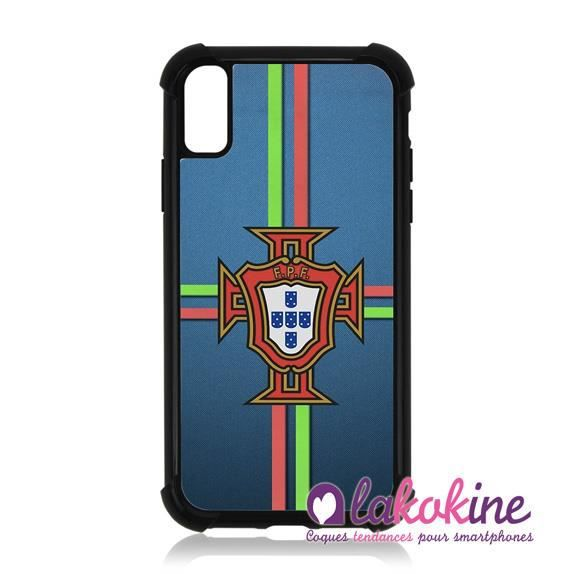 Coque Silicone Renforcée Pour Iphone XR Portugal FPF Cristiano Ronaldo Foot