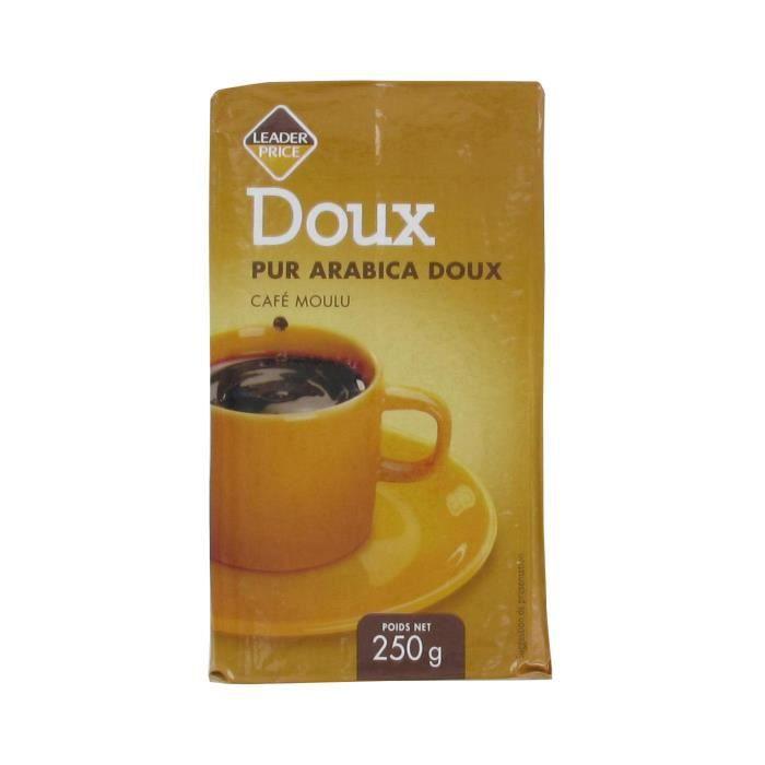 [Lot de 10] Café moulu pur arabica doux - 250g par paquet