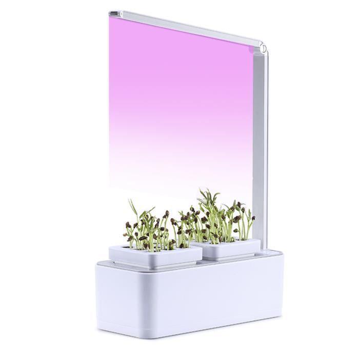 Système de culture hydroponique LED élèvent la lumière Kit de démarrage de jardin d'herbes d'intérieur Kits de germination de plan-2