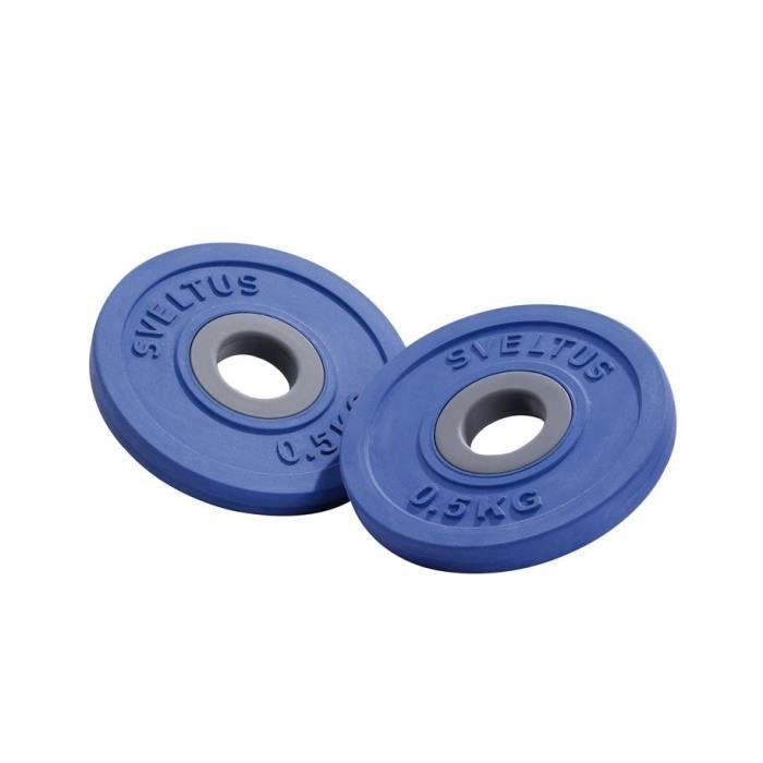 SVELTUS - 2 Disques Fit'Us 500g (bleu)