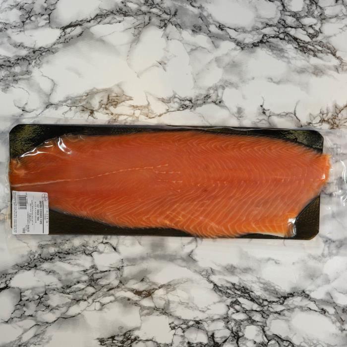 Filet de saumon bio tranché main - 1kg - Ecosse ou Irlande